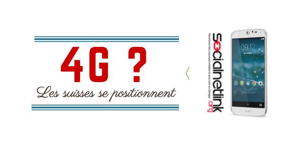 Les Suisses se positionnent pour la 4G