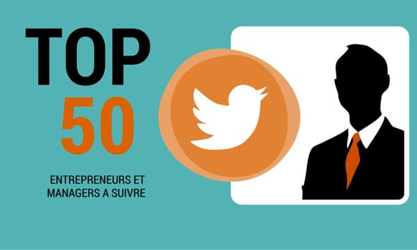 Top 50 entrepreneurs à suivre sur Twitter