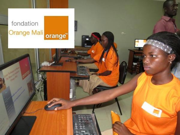 Orange Mali education