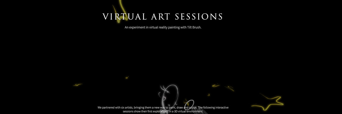google session virtual art