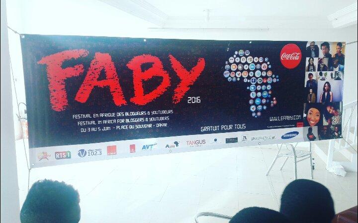 Festival en Afrique des Youtubeurs et Blogueurs