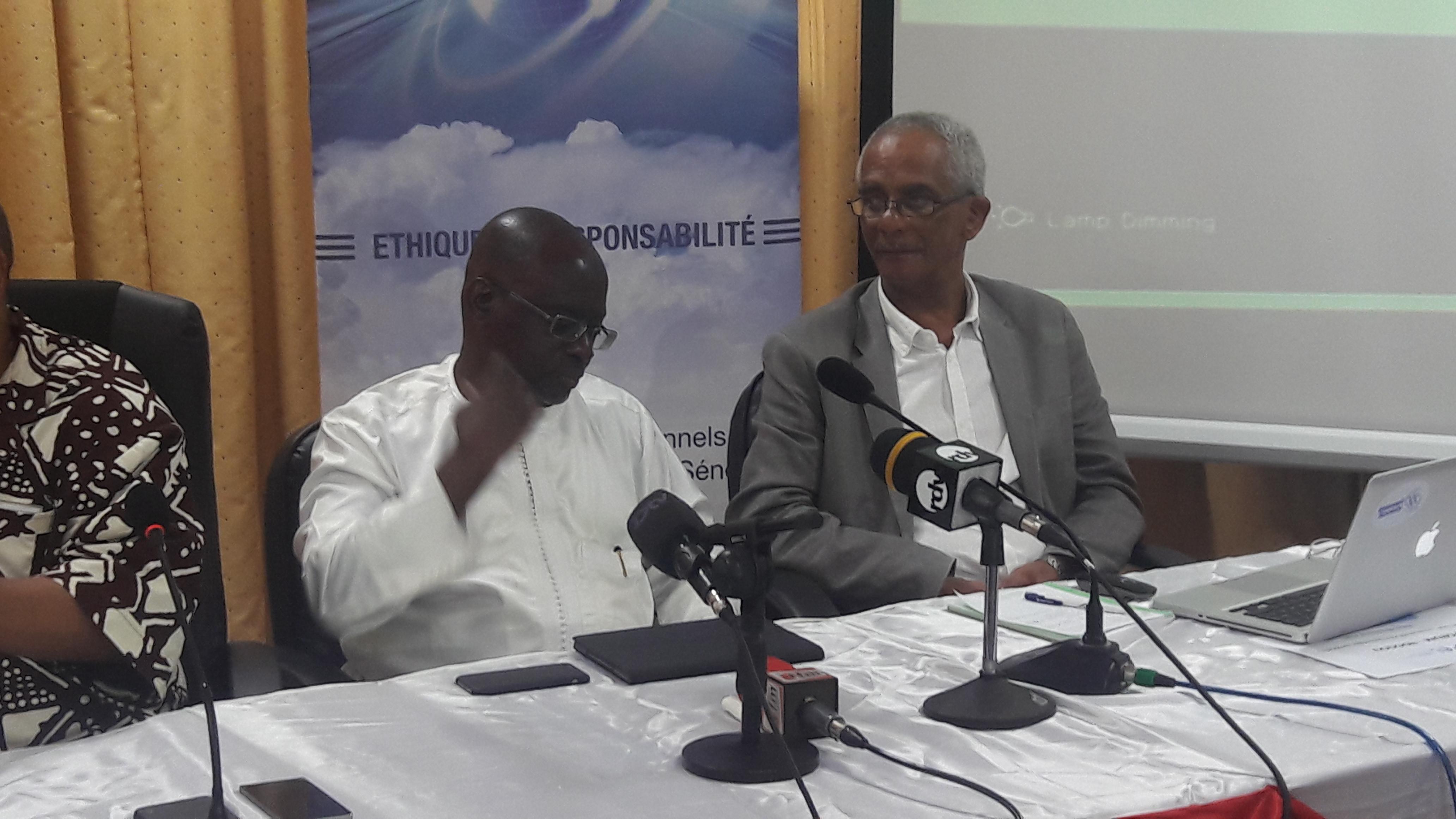 Alex Corenthin ; patron de Nic Sénégal lors d'un panel avec l'Appel