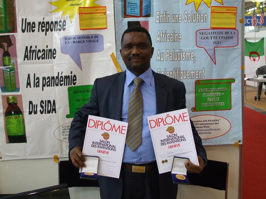 Valentin-Agon Lauréat du prix Innovation Afrique
