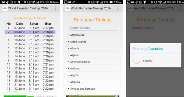 World-Ramadan-Timings-2016