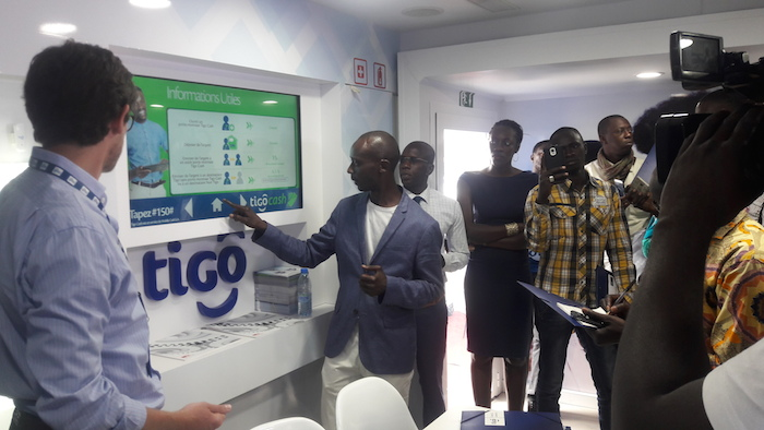 Le Bus Digital de Tigo Sénégal