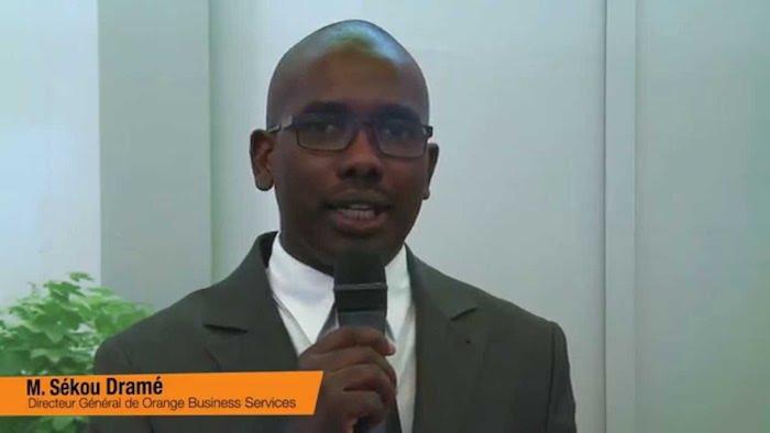 Sékou Konan Dramé Directeur général de Sonatel Business Solutions et directeur des entreprises.