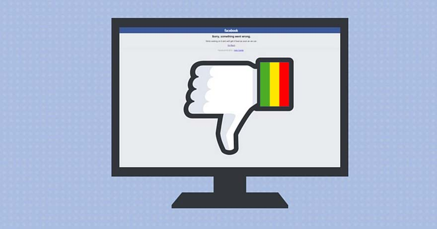 Facebook bloqué au mali