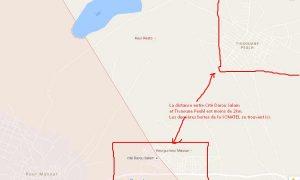 Mapping de la ville de Tivaoune Peulh non connectée à internet