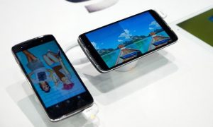 Alcatel at Mobile World Congress 2015 Barcelona