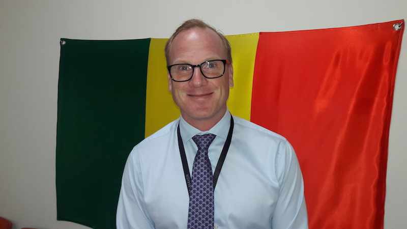 Nicolas Blixell Directeur Général d'ericsson Sénégal