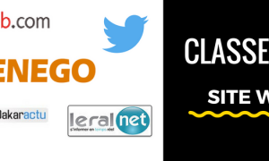 Classement des sites les plus visites au Sénégal