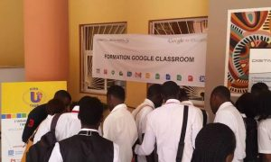 Formation en ligne Google Classroom à UCAO Saint-Michel avec  Digitalschool Technologies
