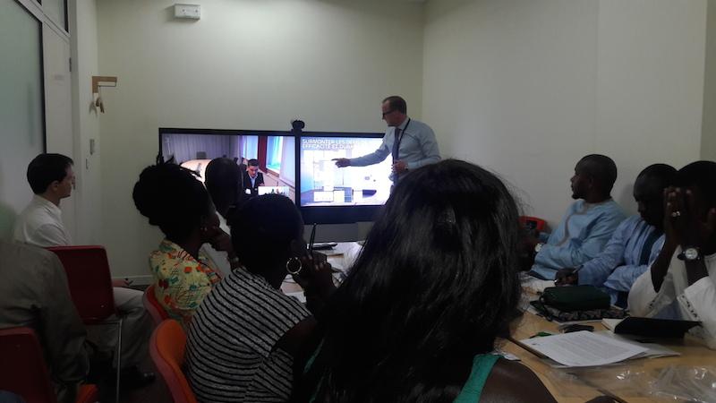 Ericsson rencontre les médias sénégalais