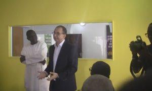 Monsieur Mohsen Chiraba DG de Arc Information lors du lancement du programme Arccelerate