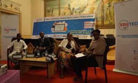Edu Tech Forum panel sur :Le numérique pour une Éducation de qualité et accessible à tous