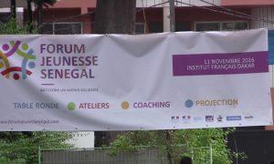 Le forum Jeunesse Sénégal