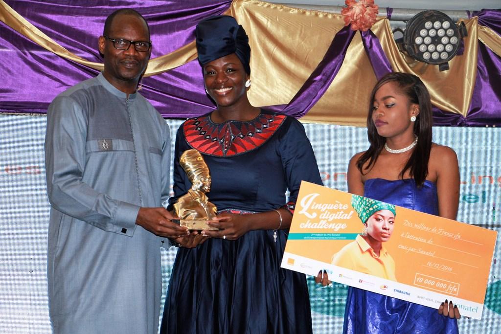 La blogueuse Karelle remporte le « Linguère Digital Challenge 2016 »