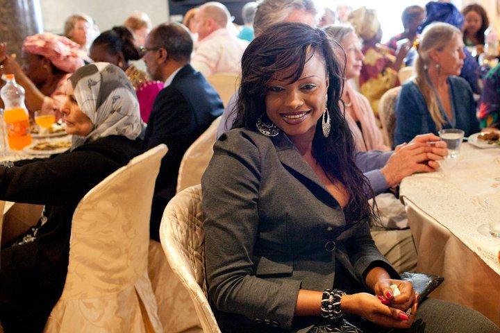La chanteuse Mbathio  Ndiaye