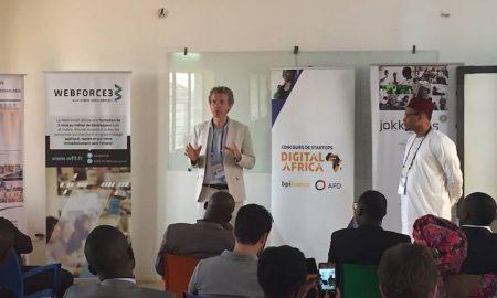 Olivier Bréchard, Directeur Exécutif de WebForce3 en compagnie de  Karim Sy, Fondateur et Chief Catalyst de Jokkolabs