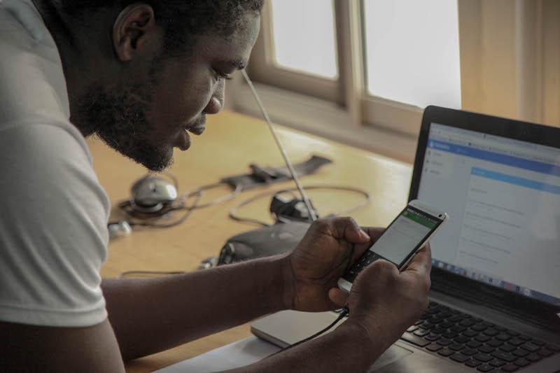 Emmanuel Owusu Addai, CTO et cofondateur de Farmerline