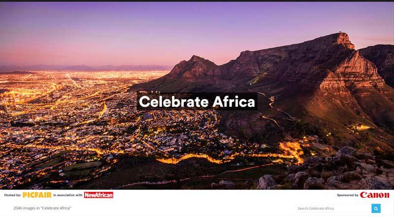 Canon CelebrateAfrica concours