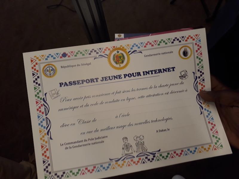Un aperçu du Passeport Jeune pour internet