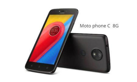 La Moto phone C 8G