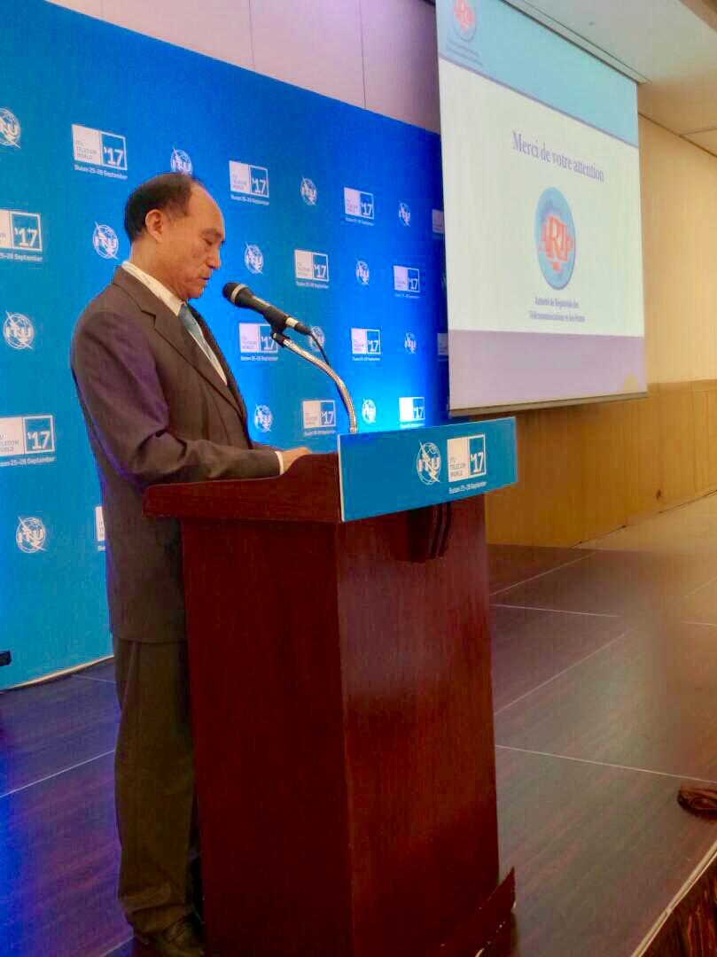 Le Secrétaire général de l'UIT, Houlin Zhao