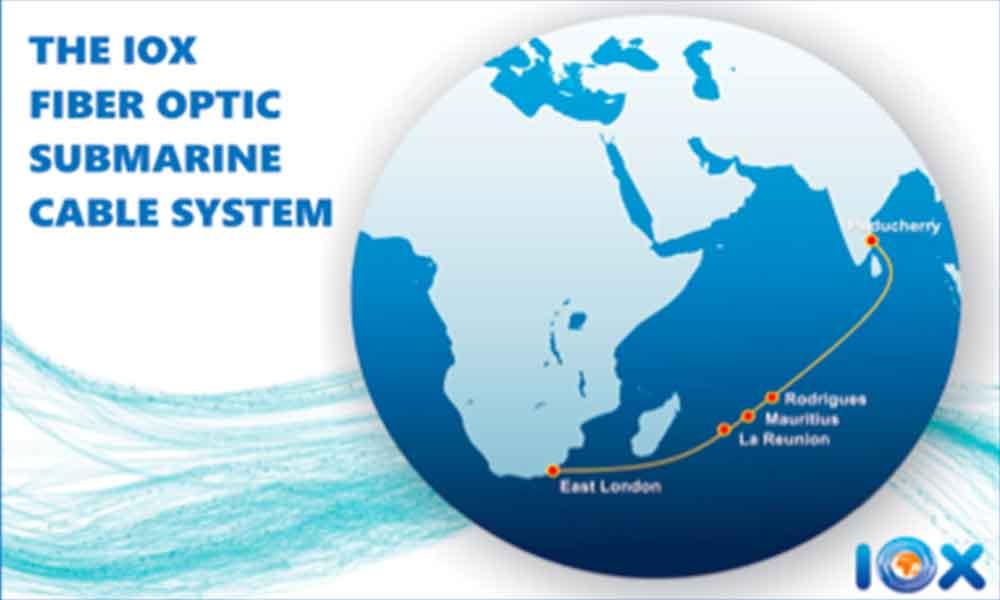 Câble IOX : début des opérations pour la connexion entre les outre-mer, l'Inde et l'Afrique du Sud