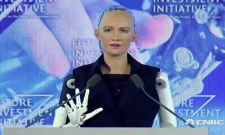 C'est un fait inédit dans l'histoire de l'humanité. Pour la première fois, un pays du monde, notamment l'Arabie Saoudite accorde la citoyenneté à un robot. L'histoire se déroule en Arabie Saoudite, lors du forum économique Future Investment Initiative tenu à Riyad du 24 au 26 octobre 2017.