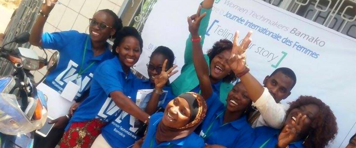 À la rencontre de la communauté passionnante Women TechMakers Bamako.