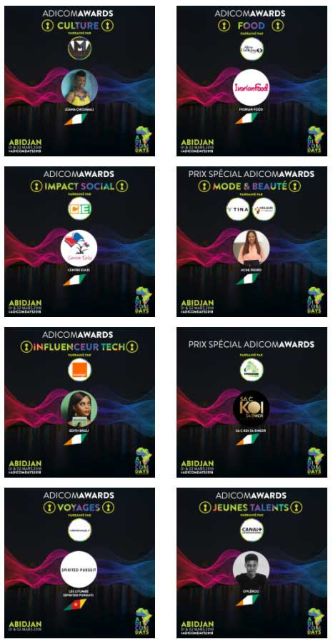 adicomawards laureats 2018