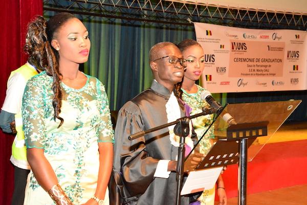 Discours du Pr Moussa Lô, coordonnateur de l'Université virtuelle du Sénégal