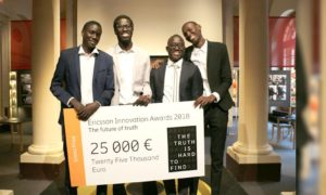 Ownlabs gagnant Ericsson Innovation Awards 2018