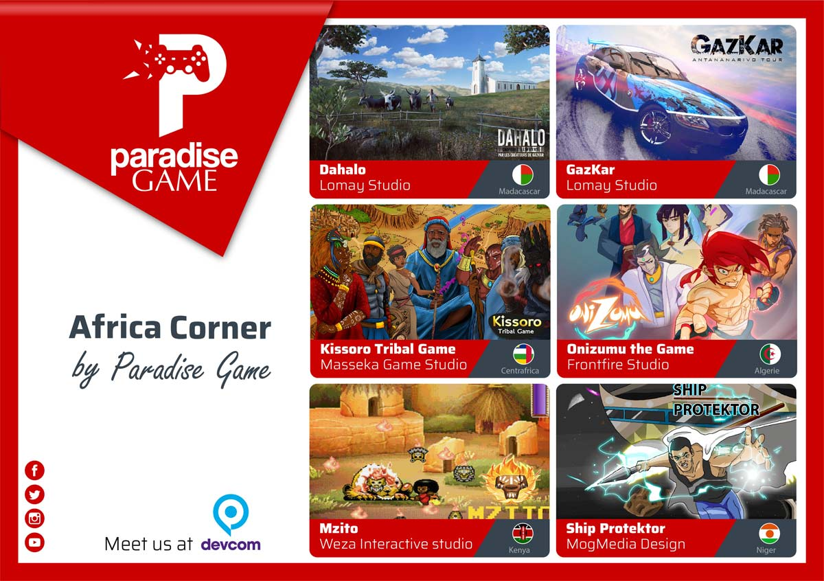 paradise Game Gamescon 2018