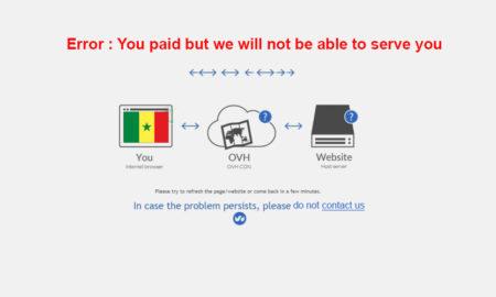 ovh ferme ses bureaux de Dakar
