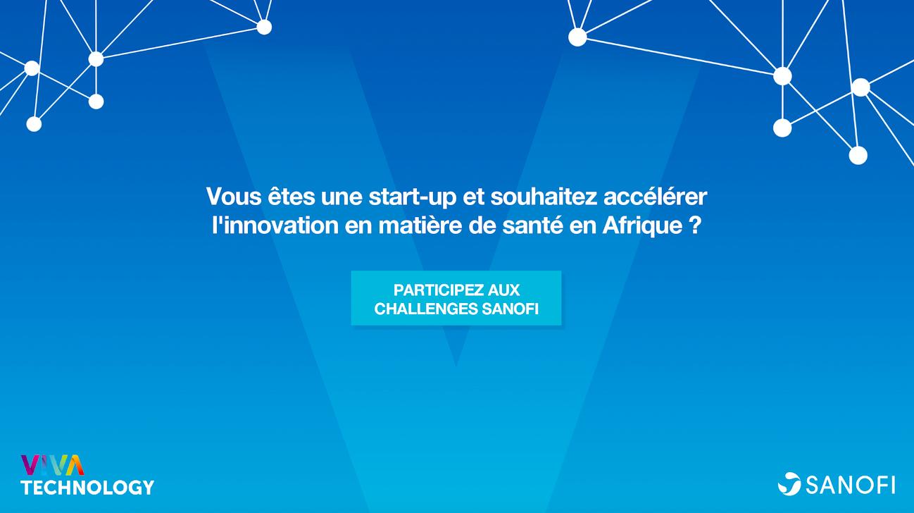 Sanofi à la recherche de Start-Ups africaines innovatrices dans l'écosystème sanitaire