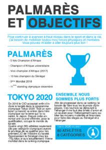 Qualification à TOKYO2020, écrivons l'histoire ensemble!