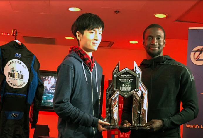 Le jeune sénégalais Amat Cama et Richard Zhu ont hacké la Tesla Model 3