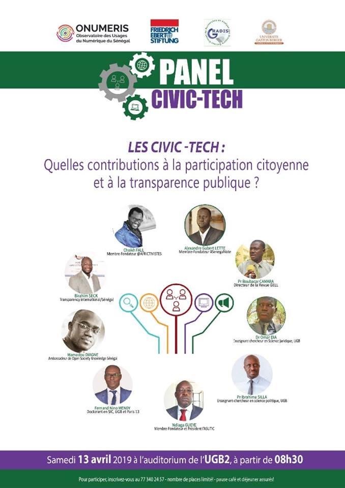 Civ Tech au Sénégal : Quelle (s) contribution (s) à la participation citoyenne et à la transparence publique ?