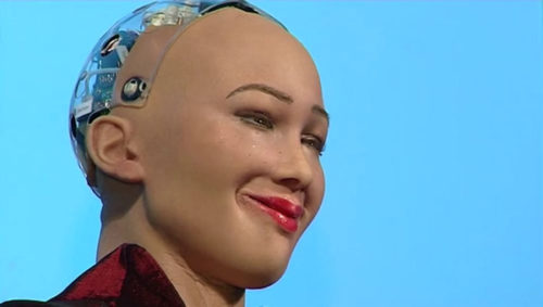 Sophia robot transform africa