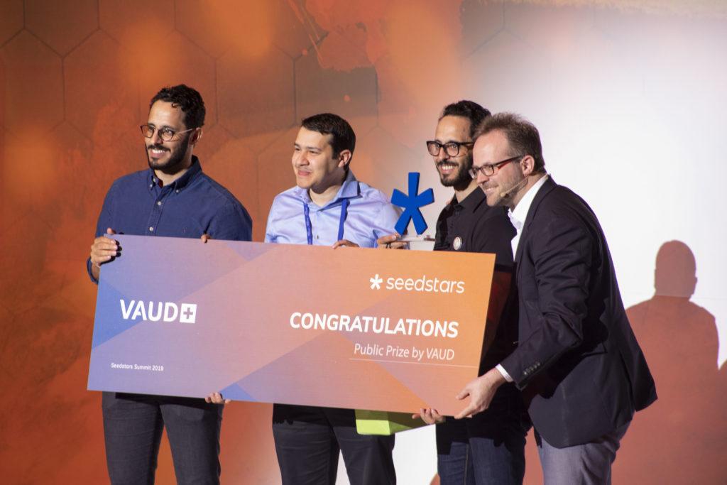La startup Blended lauréate du  Seedstars Global Winner 2019