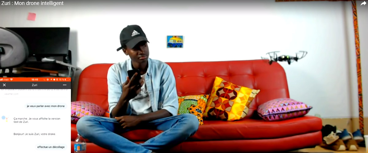 Canada – Un jeune sénégalais conçoit  un drone intelligent