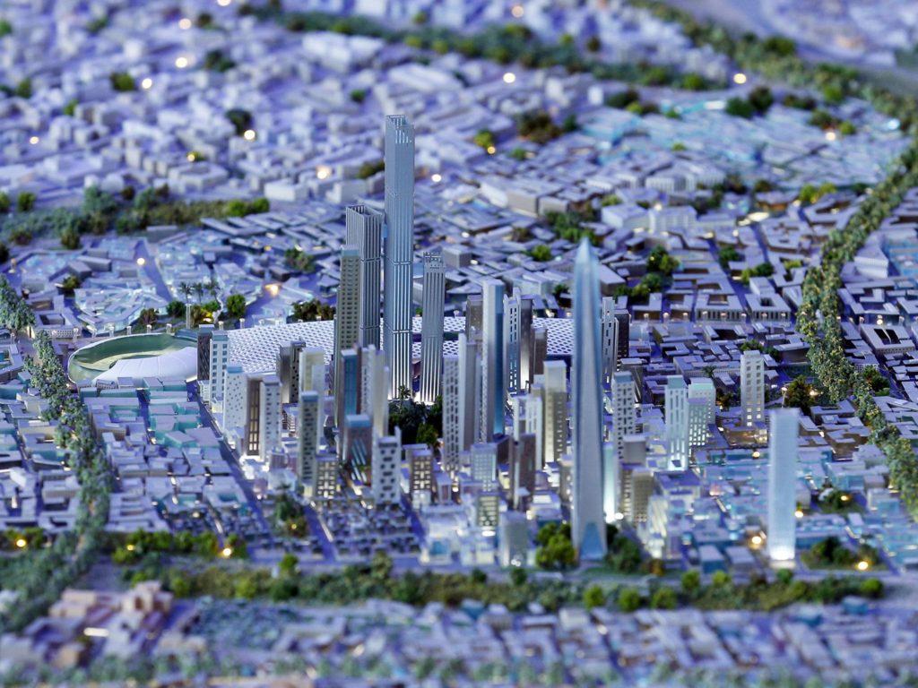 Modernisation- L'Egypte lance sa nouvelle capitale intelligente