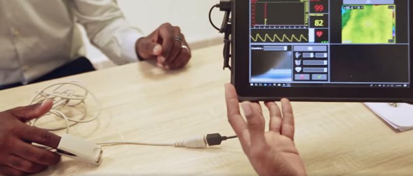 Covid19 en Guinée : Mountaga KEITA conçoit une tablette pour diagnostiquer les patients