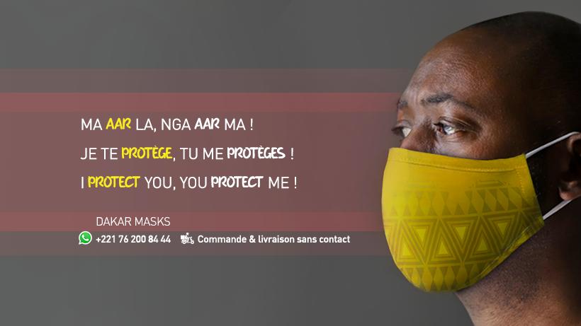 DakarMasks: une initiative qui sauve des vies grâce au digital