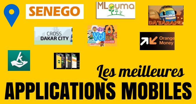 Les meilleures applications mobiles qui ont marqué 2015 au Sénégal
