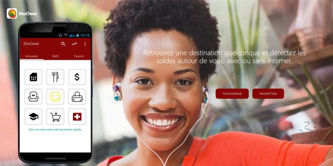 Shoower : L'application mobile camerounaise qui révolutionne les usages avec ou sans Internet