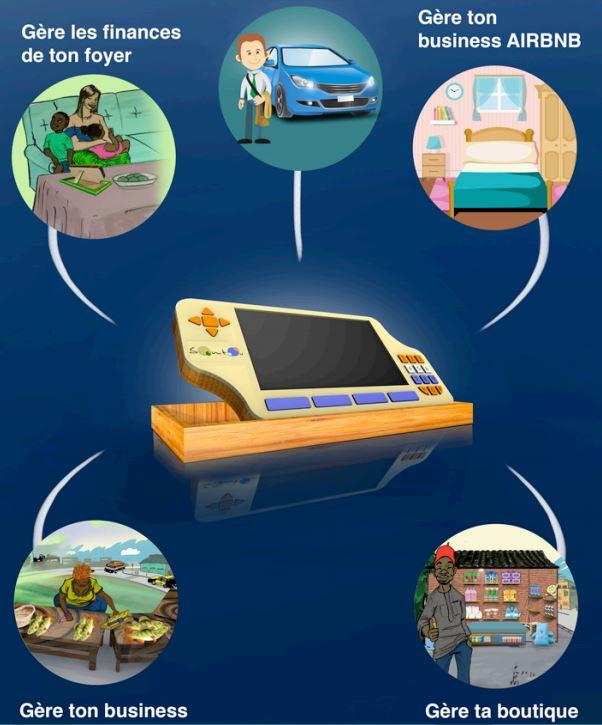 Somtou, la console qui révolutionne le secteur informel en Afrique