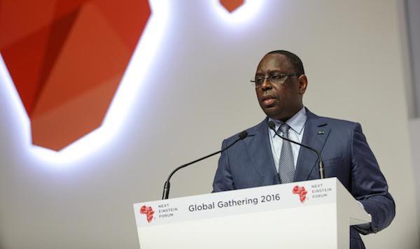 MACKY SALL : « La formation en Sciences doit être  la destination principale  des investissements sur notre continent »